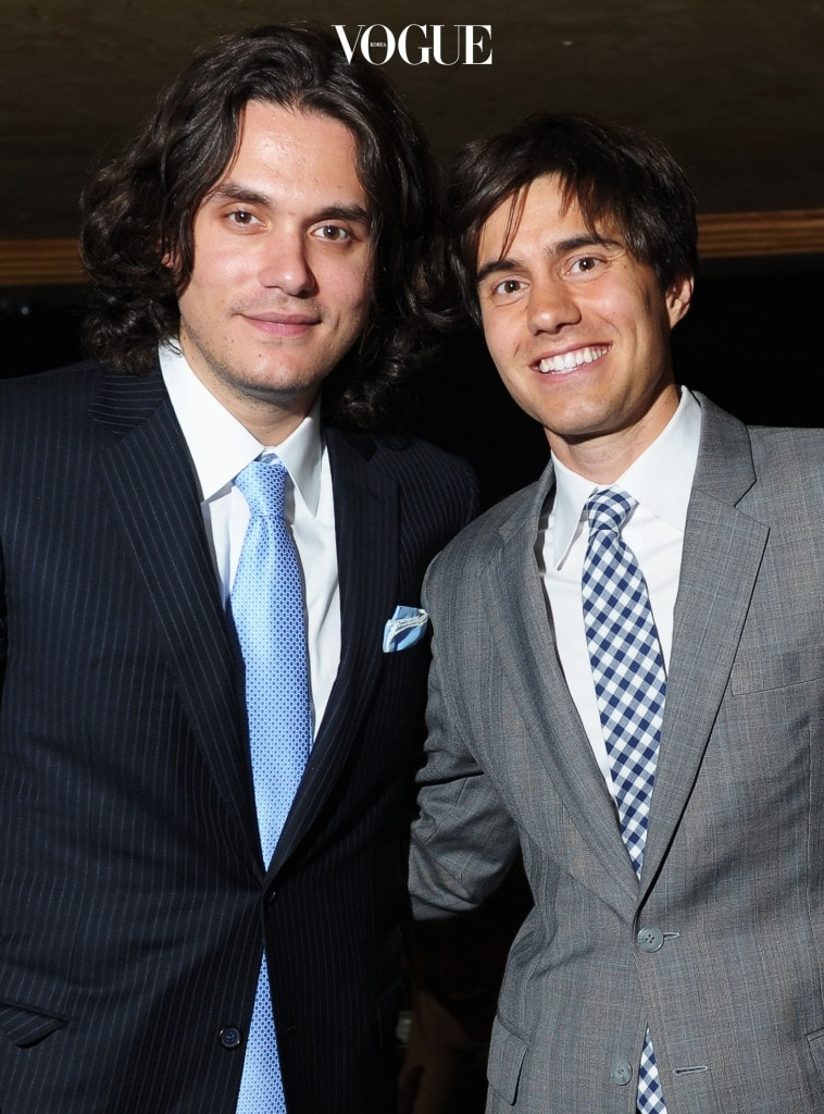 NEW YORK, NY - JUNE 13:  John Mayer (L) and co-founder of CollegeHumor Ricky Van Veen attend the 15th Annual Webby Awards at Hammerstein Ballroom on June 13, 2011 in New York City.  (Photo by Michael Loccisano/Getty Images for The Webby Awards)