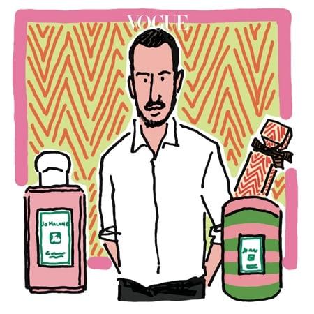 JO MALONE LONDON × JONATHAN SAUNDERS 영국 출신 디자이너 조나단 선더스가 조 말론 런던과 손잡았다. 지난 7월 말 런던에서 선공개한 조 말론 런던의 크리스마스 컬렉션은 올 핑크로 선보이는 '그린 아몬드 & 레드 커런트' 향수와 줄무늬 패턴 틴 케이스에 담긴 향초 등 소장 가치 충만한 한정 제품으로 가득하다.
