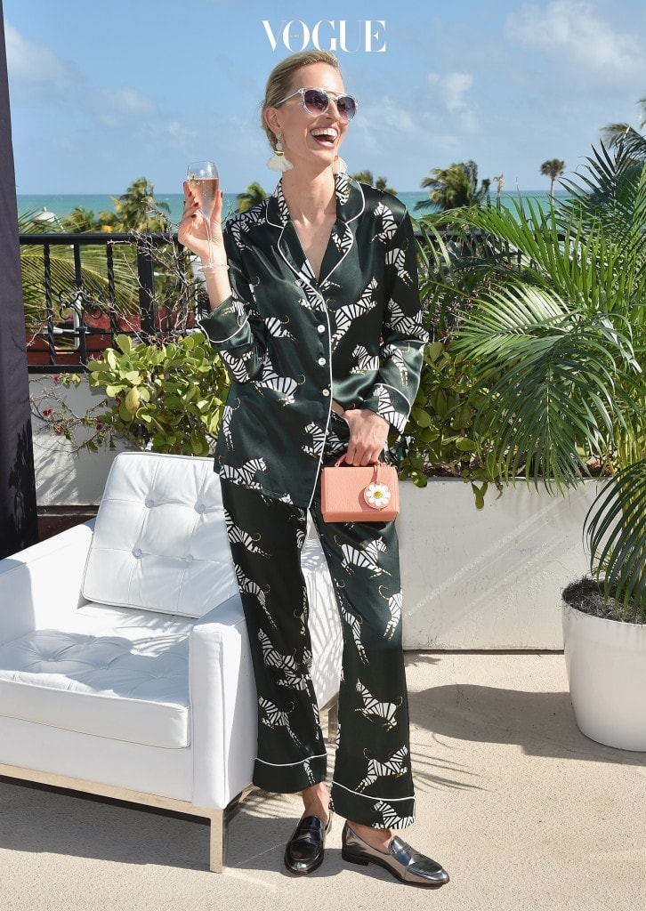MIAMI BEACH, FL - NOVEMBER 30:  Karolina Kurkova attends the L'Eden By Perrier-Jouet Rooftop Soiree With Karolina Kurkova on November 30, 2016 in Miami Beach, Florida.  (Photo by Bryan Bedder/Getty Images for Perrier-Jouet )