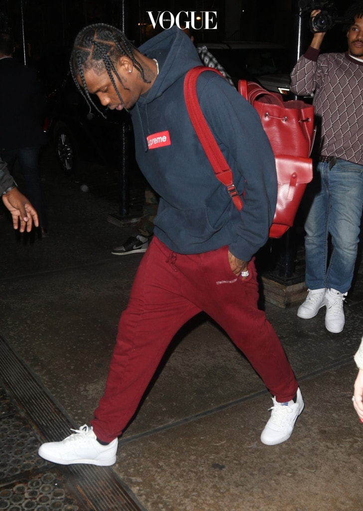 Travis Scott visits ex-girlfriend Rihanna at her hotel in New York City. Pictured: Travis Scott Ref: SPL1370234  071016   Picture by: Splash News Splash News and Pictures Los Angeles:310-821-2666 New York: 212-619-2666 London:870-934-2666 photodesk@splashnews.com