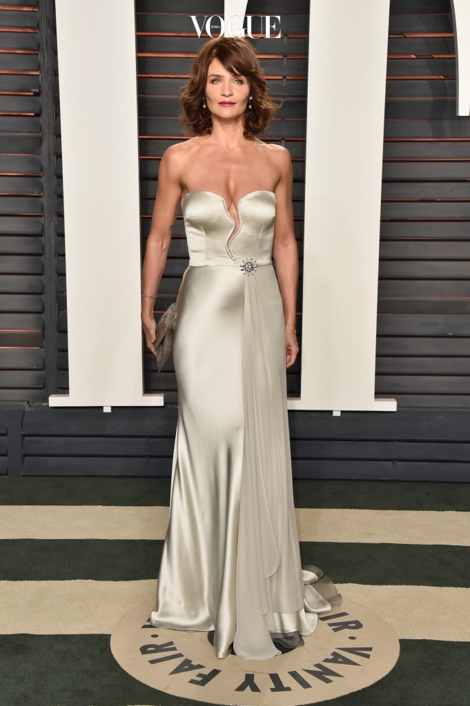 BEVERLY HILLS, CA - FEBRUARY 28:  Helena Christensen attends the 2016 Vanity Fair Oscar Party Hosted By Graydon Carter at the Wallis Annenberg Center for the Performing Arts on February 28, 2016 in Beverly Hills, California.  (Photo by Pascal Le Segretain/Getty Images)