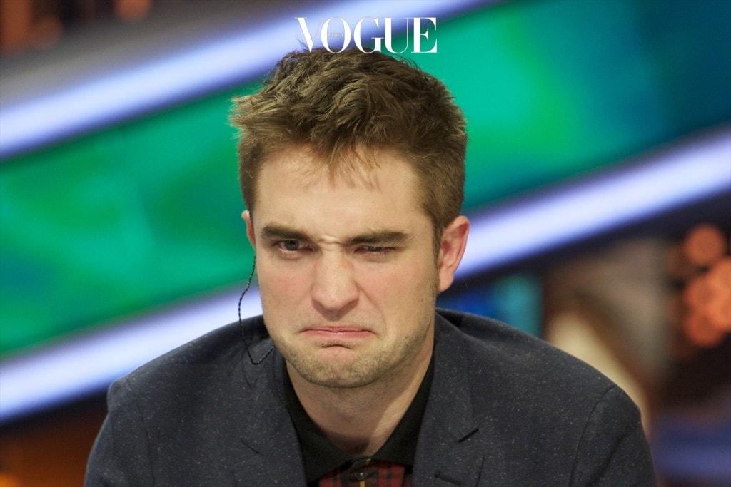 "MADRID, SPAIN - NOVEMBER 15:  Robert Pattinson attends ""El Hormiguero"" Tv show at Vertice Studio on November 15, 2012 in Madrid, Spain.  (Photo by Juan Naharro Gimenez/Getty Images)"