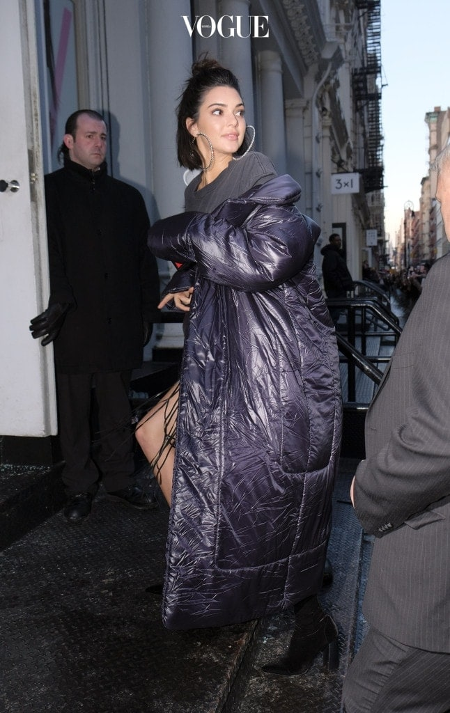 TV personality Kendall Jenner arriving at an event at V Magazine in Soho on February 10, 2017 in New York City. Pictured: Kendall Jenner Ref: SPL1439572  100217   Picture by: Splash News Splash News and Pictures Los Angeles:310-821-2666 New York:212-619-2666 London:870-934-2666 photodesk@splashnews.com