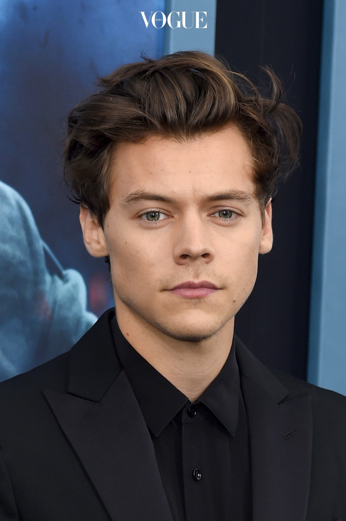 """NEW YORK, NY - JULY 18:  Harry Styles attends the """"DUNKIRK"""" New York Premiere on July 18, 2017 in New York City.  (Photo by Jamie McCarthy/Getty Images)"""