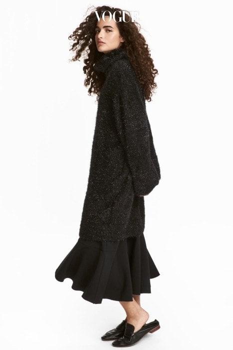 니트 터틀넥 드레스. H&M 제품. 3만9천원