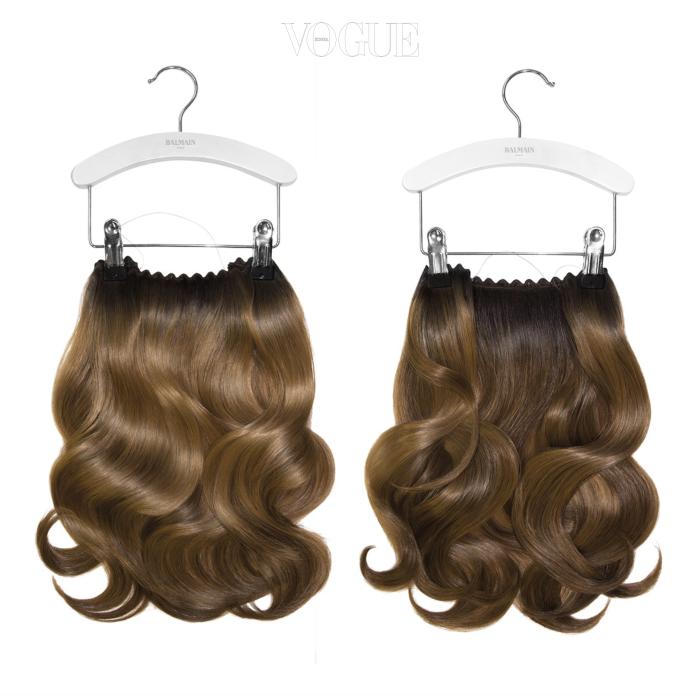 패션쇼에서도 사용되고 있는 발망의 헤어 제품. 고급스럽고 자연스러운 붙임머리를 연출할 수 있다. 발망 헤어(Balmain Hair) >온라인 숍 바로가기