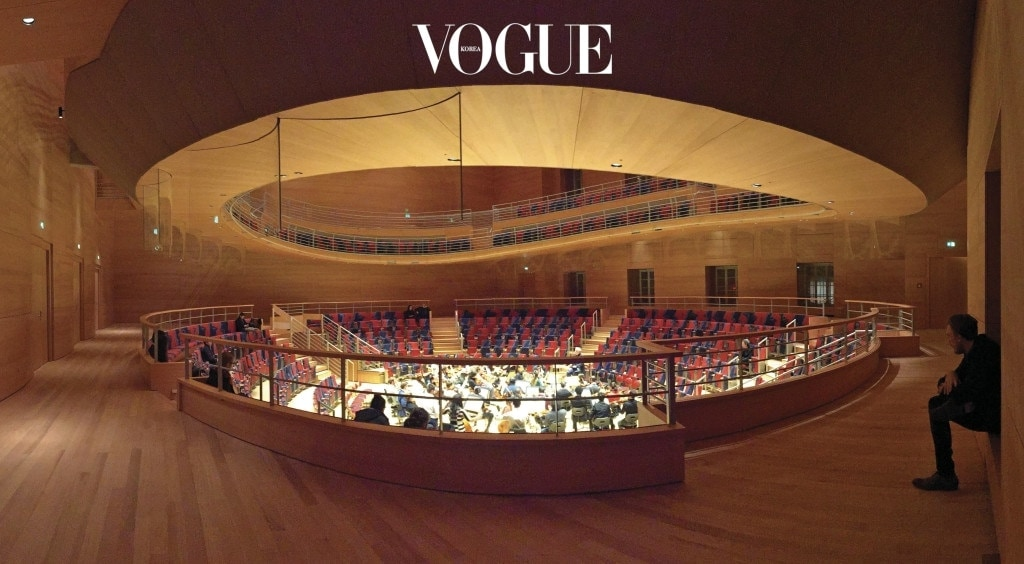 Pierre Boulez Saal Concert Hall. Courtesy of Gehry Partners, LLP