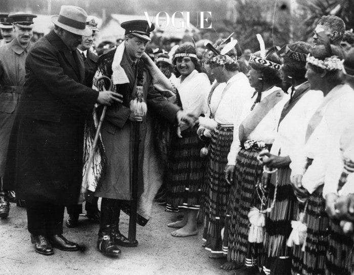 Greeting The Maoris