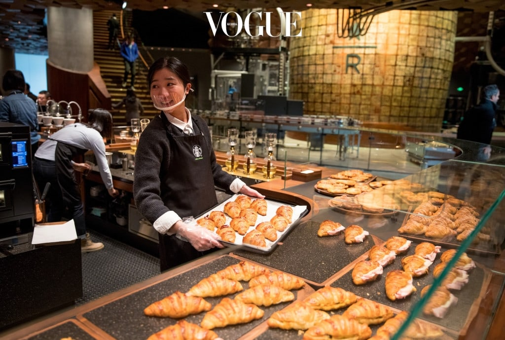 Princi baked items are shown in the new Starbucks Roastery in Shanghai, China. Photographed on Friday, December 1, 2017.  (Joshua Trujillo, Starbucks)