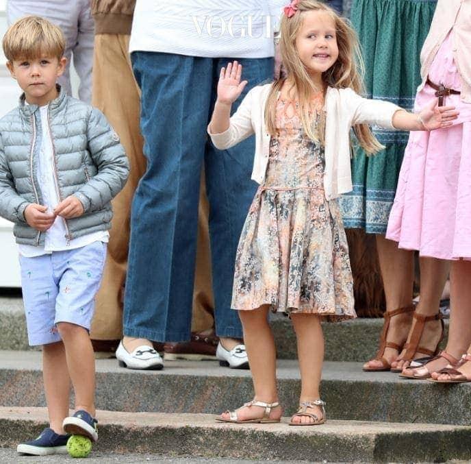 4형제 중에 유난히도 귀여운 외모를 자랑하는 빈센트 왕자!
