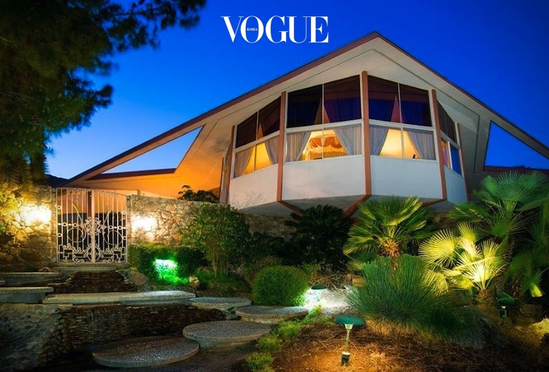바로 가수 엘비스 프레슬리(Elvis Presley)가 신혼 여행 때 방문했던 집입니다.