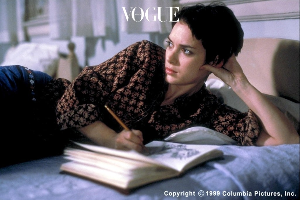 """Winona Ryder stars in """"Girl, Interrupted."""" A true story about Susanna Kaysen, whose prescribed """"short rest"""" at a renowned mental institution becomes a strange, nearly two-year-long journey into Alice's Wonderland. 1999 Columbia Pictures, Inc."""