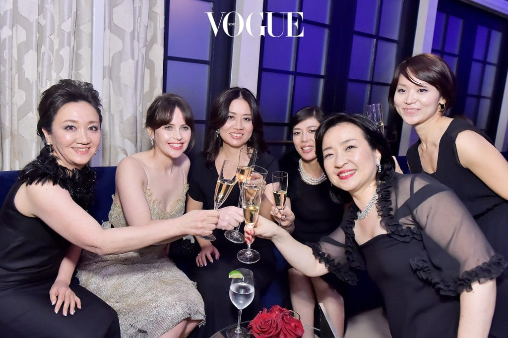 Cle de Peau Beaute Celebrates The Brand Relaunch With The Debut of Global Face, Felicity Jones in Los Angeles